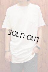 BEENUTS / POKET LONG TEE ポケット ロングTシャツ/WHITE