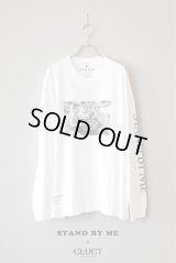 CLUCT |クラクト CLUCT x STAND BY ME DROP SHOULDER L/S|WHITE