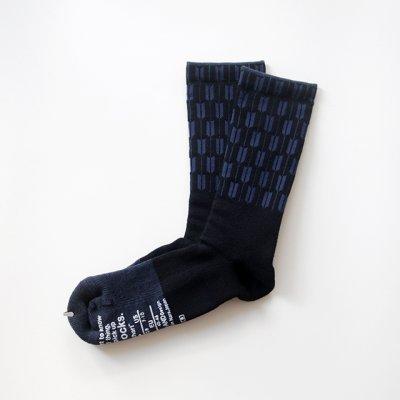 画像1: ANDSOX|アンドソックス  SUPPORT PILE CREW 靴下 ソックス|YAGASURI